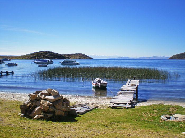 Zona del Puerto Norte - Lago Titicaca Isla del Sol - Cómo ir a la Isla del Sol - Qué ver en Isla del Sol - Bolivia