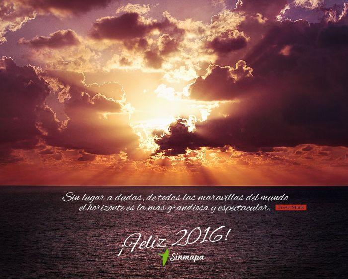 Sin lugar a dudas, de todas las maravillas del mundo el horizonte es la más grandiosa y espectacular. Freya Stark