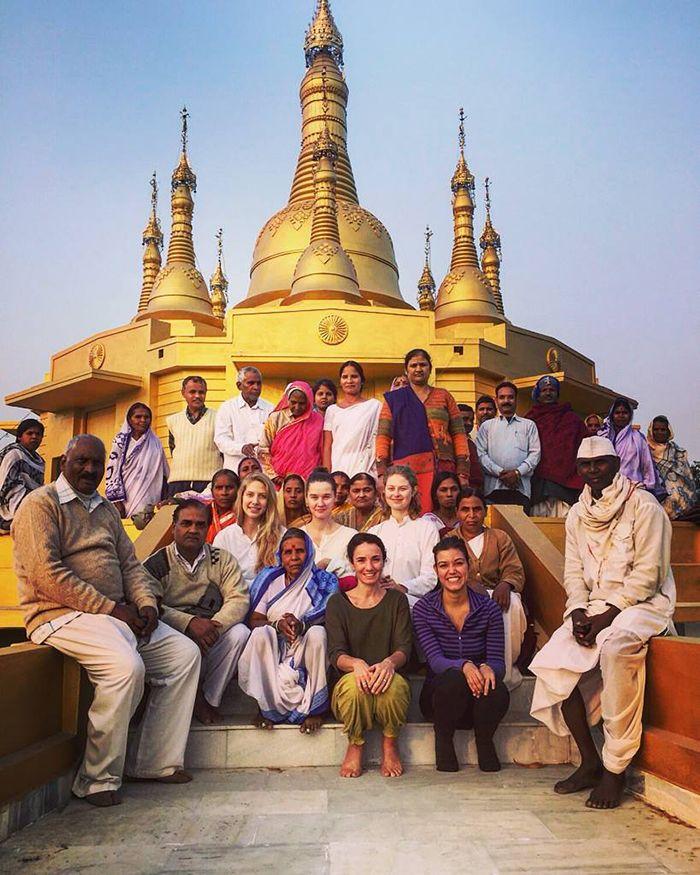El curso de meditación Vipassana en Shravasti - India