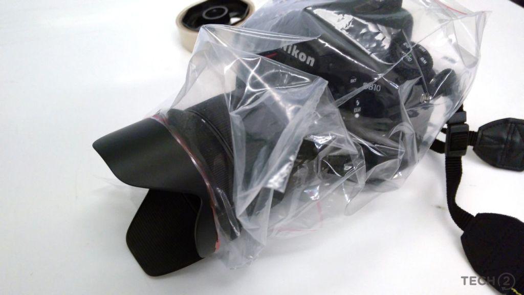 proteger la cámara de fotos