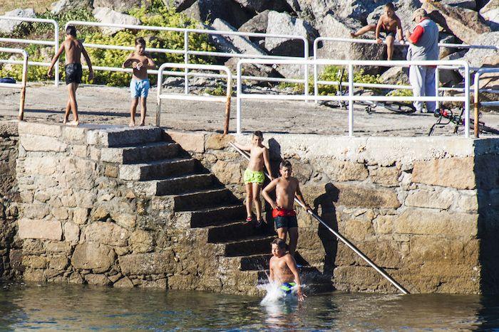 baños en aguas gallegas