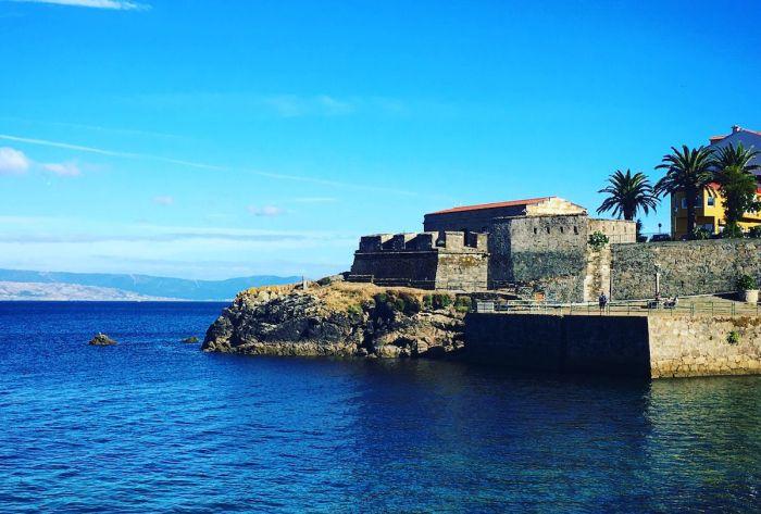 Castillo de San Carlos en Finisterre, Galicia