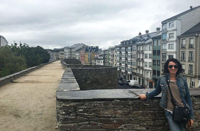 Paseo por las murallas de Lugo