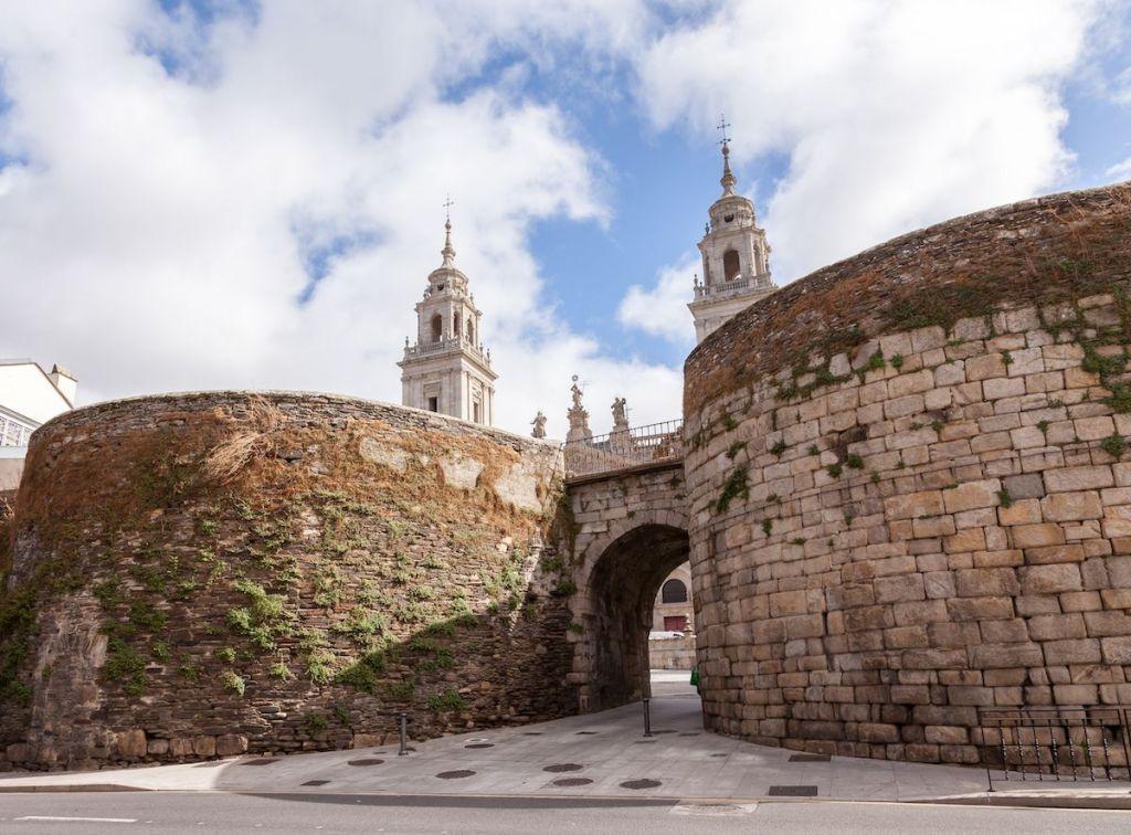 Muralla romana qué ver en Lugo