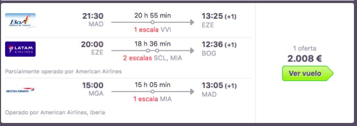 precio-vuelos-colombia-y-centroamerica