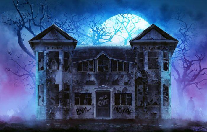 Casa encantada via Shutterstock