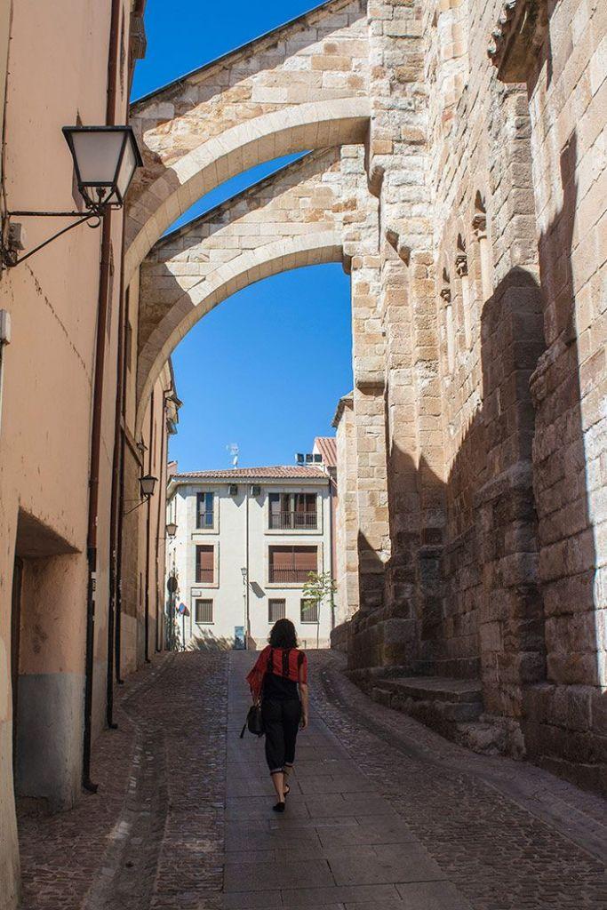 Paseando por las calles de Zamora