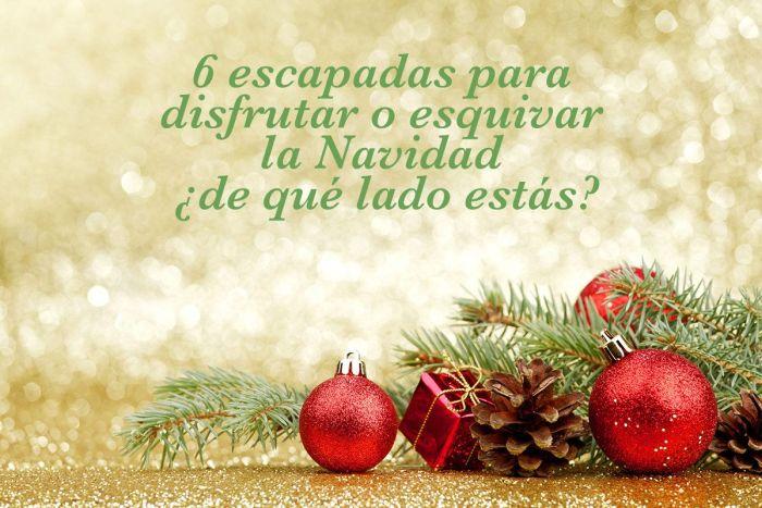 Decoración navideña via Shutterstock