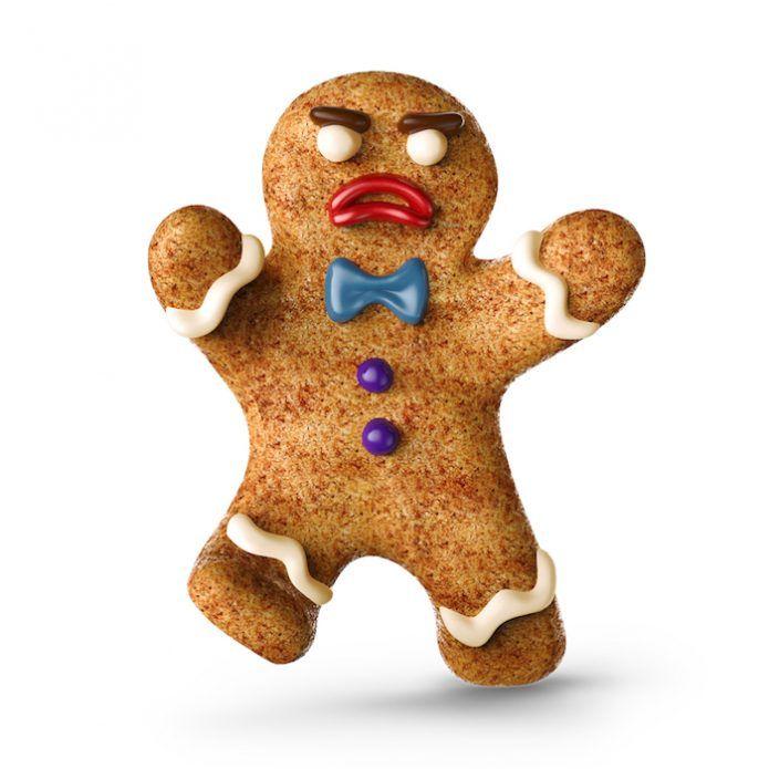 Muñeco de pan de jengibre