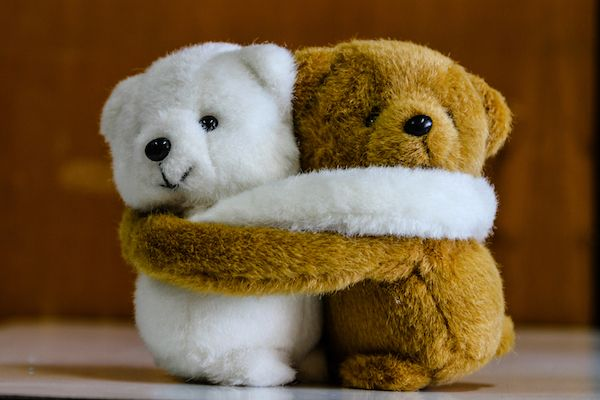 abrazo, teddy bears