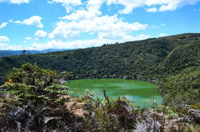 Laguna de Guatavita Bogota lugares de interes en colombia turismo