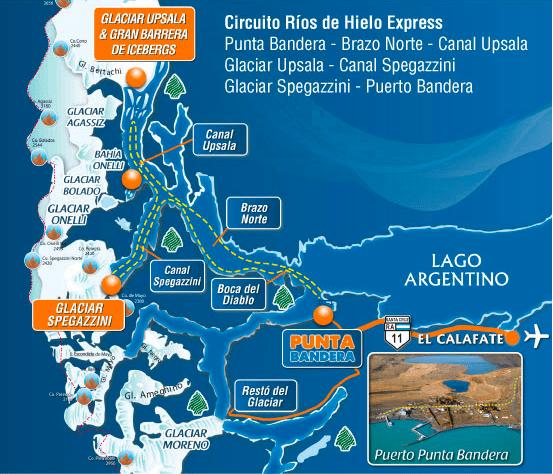 Circuito Norte Argentino En Auto : Guía de viaje el calafate y glaciar perito moreno