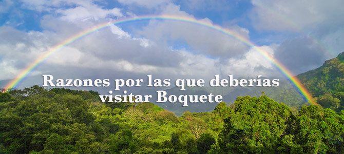 Razones por las que deberías visitar Boquete, Panamá