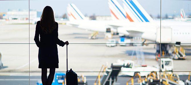 Una cita a ciegas en el aeropuerto