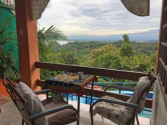 Vistas desde mi habitación en el hotel de Manuel Antonio, Costa Rica