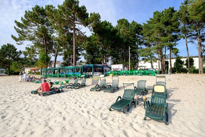 Playa A Madalena Cabanas - Galicia