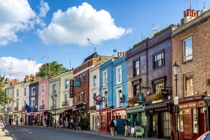 Calles de Notting Hill