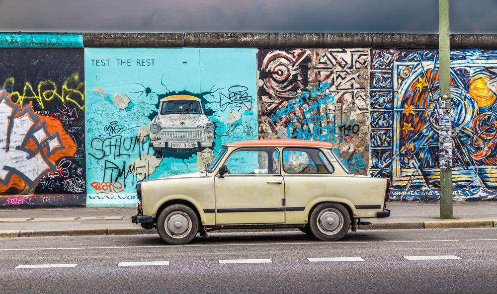 el muro en la capital alemana