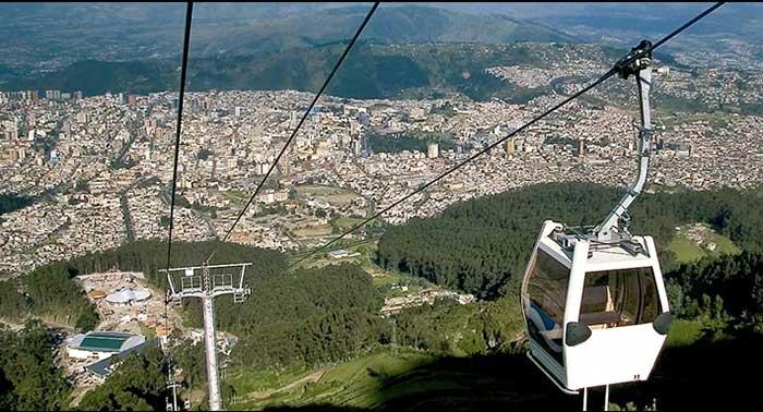 Teleférico en Quito, Ecuador