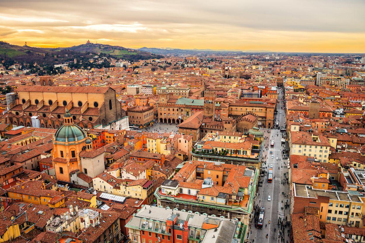 Erasmus en Bolonia