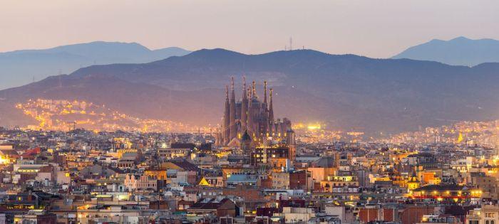 Vista general de Barcelona y la Sagrada Familia - Qué ver en Barcelona