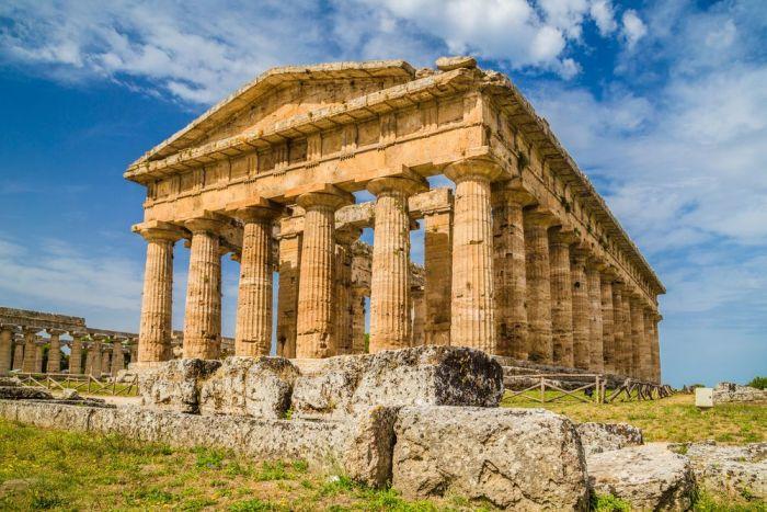 Paestum, al sur de italia