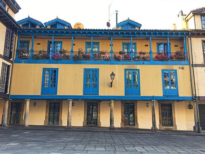 La Plaza del Fontán en Oviedo
