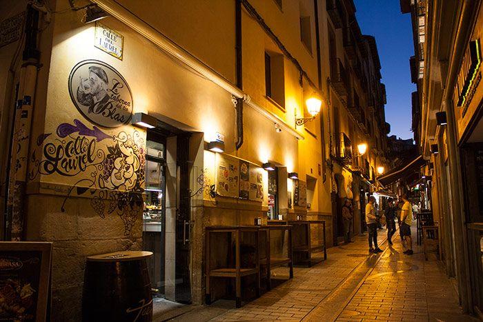 Qué ver en La Rioja - calle Laurel