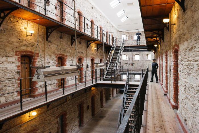 visitar la cárcel de Cork