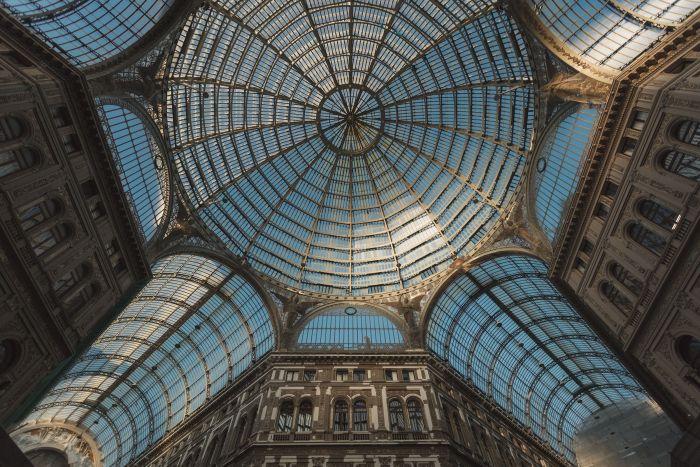 Qué ver en Nápoles - galeria Imberto I