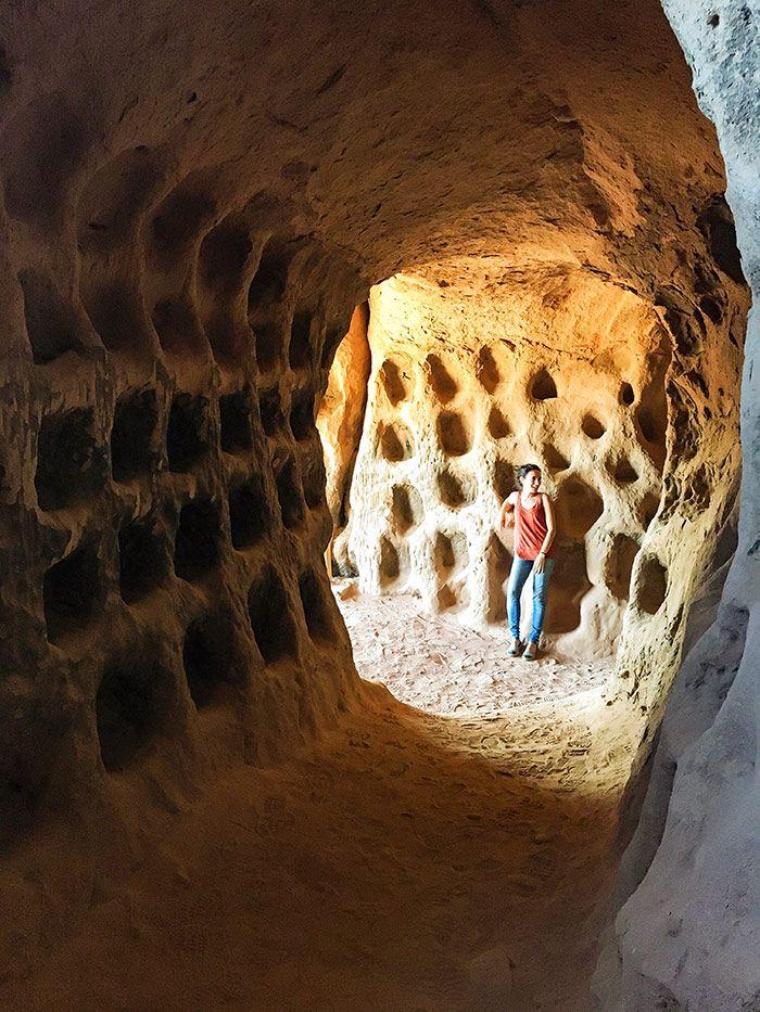 Qué ver en La Rioja - Cueva de los cien pilares en Arnedo