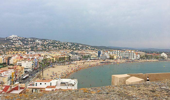 Playa de Penñíscola, Comunidad Valenciana