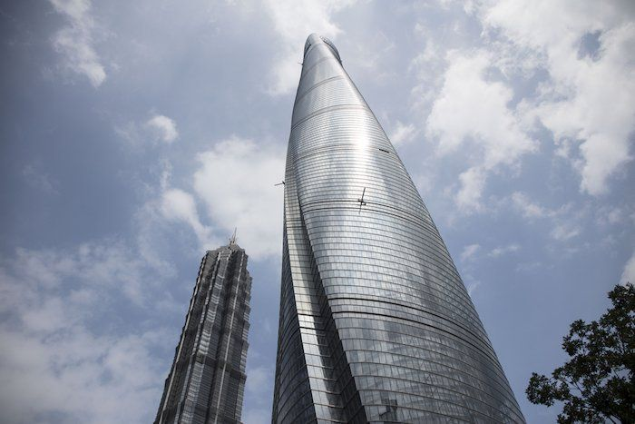 edificio de China