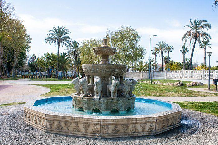 Parque de la Fuente, Salobreña, Costa Tropical de Granada