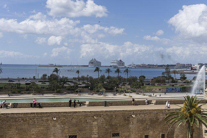Vistas al puerto de Mallorca
