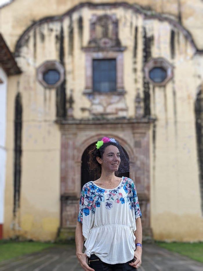 Templo y exconvento de la Compañía de Jesús Pátzcuaro Michoacán México