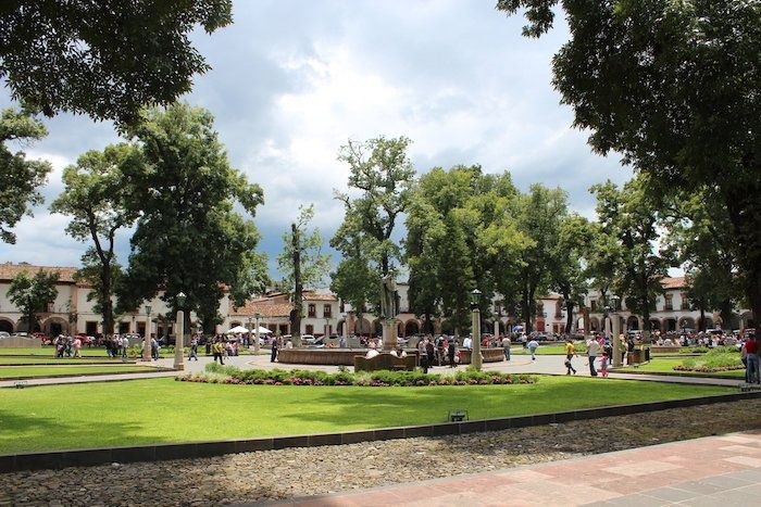 Plaza Vasco de Quiroga, Pátzcuaro, Michoacán