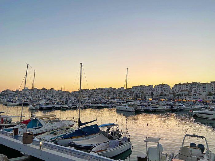 Vistas de Puerto Banús, Marbella