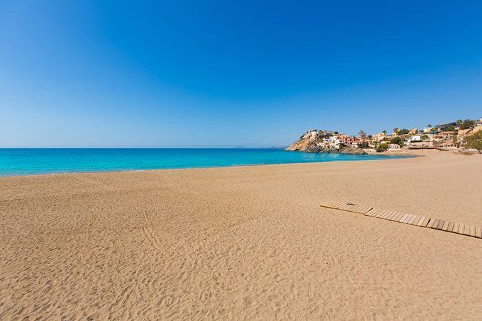 Playa de Bolnuevo Mazarrón