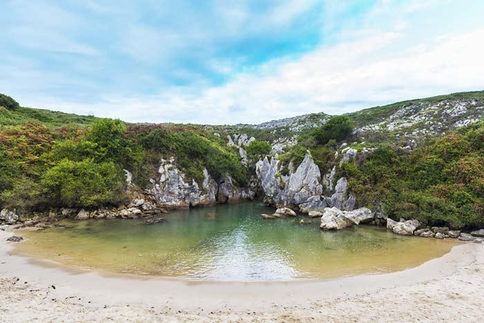 Playa Gulpiyuri - Asturias