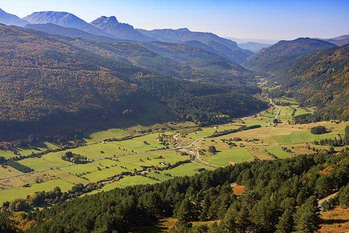 Valle del Roncal es otro destino Starlight para ver estrellas en España