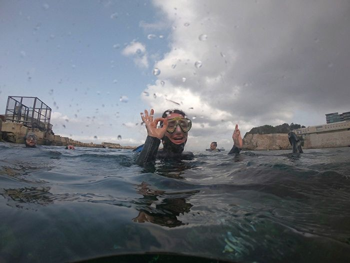 Bautismo de buceo en Gibraltar