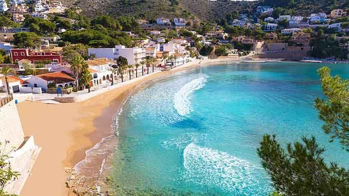 Playa Moraira y Portet, Comunidad Valenciana