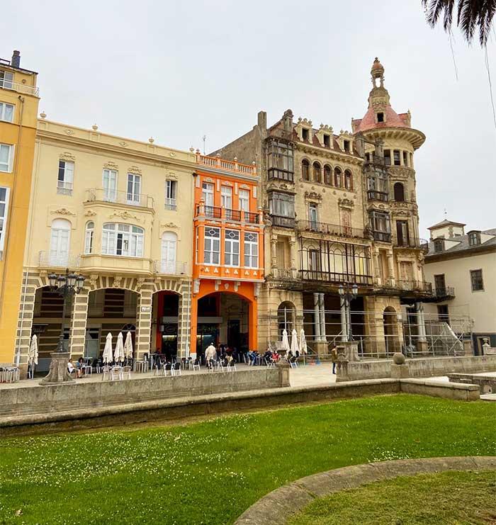Centro histórico de Ribadeo, Galicia