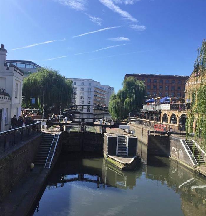 Los canales de Londres
