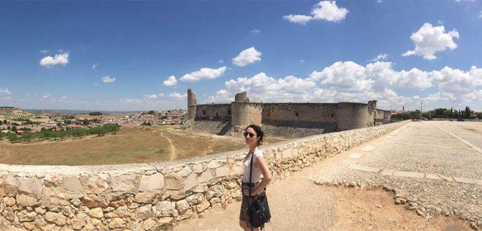 Vistas de Chinchón desde la zona del castillo