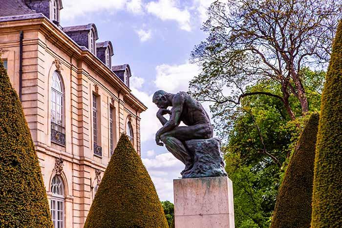 Jardines del Museo Rodin, Francia