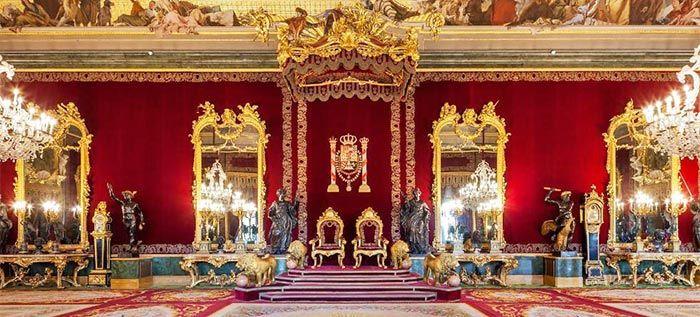 Salón del Trono, Palacio Real de Madrid.
