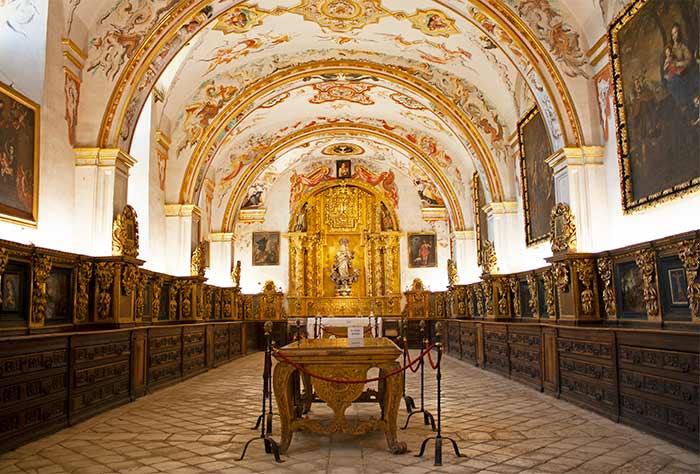 Interior del Monasterio de Yuso