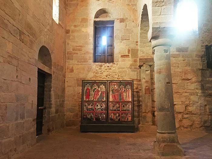Interior del Monasterio de Suso, San Millán de la Cogolla, La Rioja